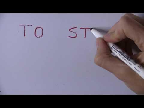 Cómo Se Escribe PARAR En Inglés