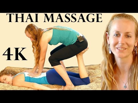 4k Thai Massage Part 5 – Back & Legs: How to Do Thai Massage Therapy Techniques