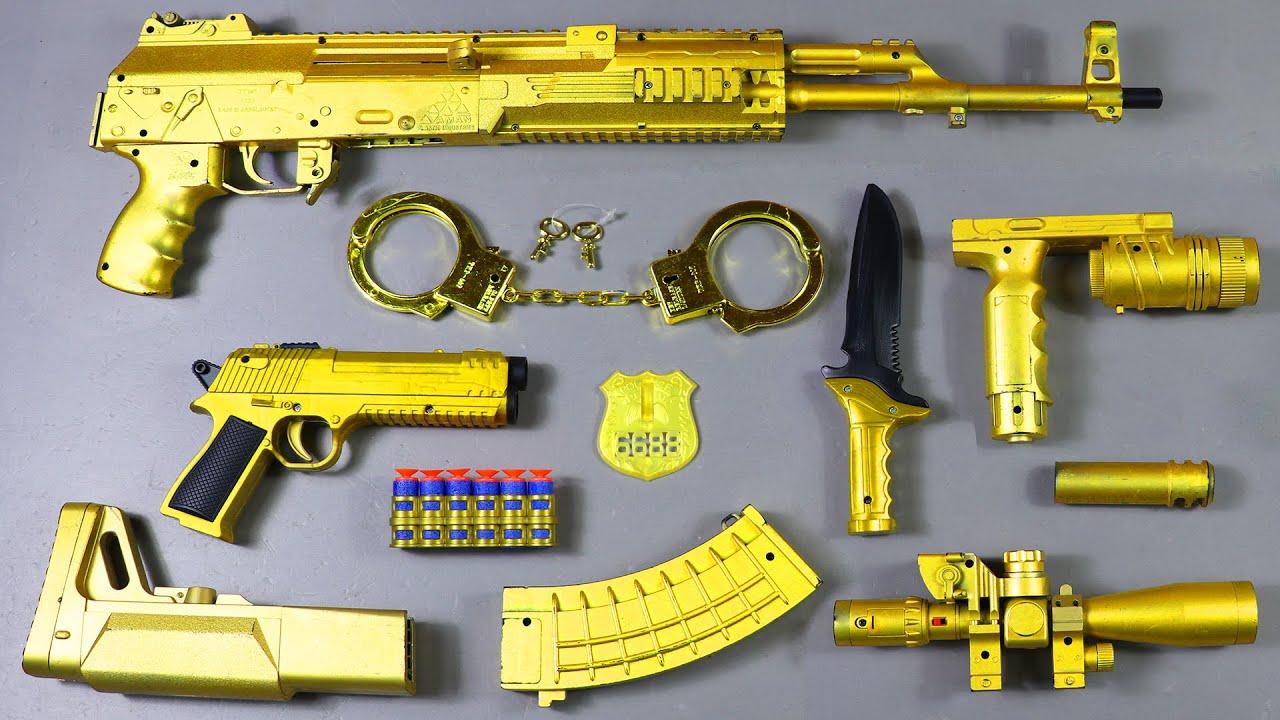 Realistic Sniper Toy Gun | Machine Gun Toy | Sniper Rifle Adventure Shooting Toy Guns