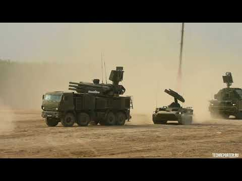 Динамический показ бронетехники МВТФ Армия-2017 / Dynamic display of armored vehicles ForumArmy-2017