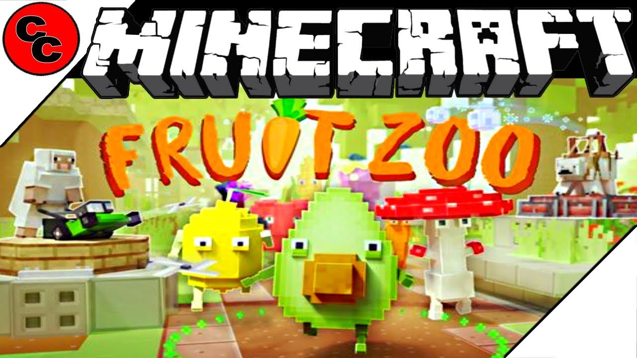 """Minecraft: """"Marketplace Showcase FRUIT ZOO - TOWER DEFENSE """""""