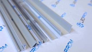 Алюминиевый профиль для светодиодной ленты(Компания