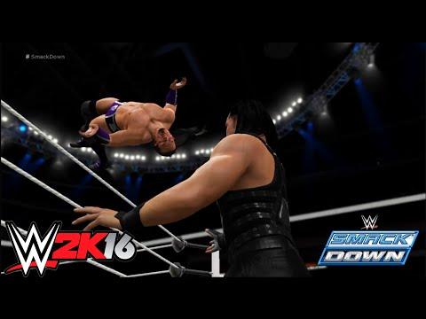 WWE-2K16 - Neville vs Roman Reigns Normal Match: SmackDown 2016 Full Match