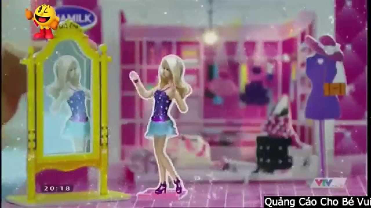 Quảng Cáo Sữa Vinamilk Và Sưu Tập Bộ Đồ Chơi Barbie, Hot Wheels Cho Bé