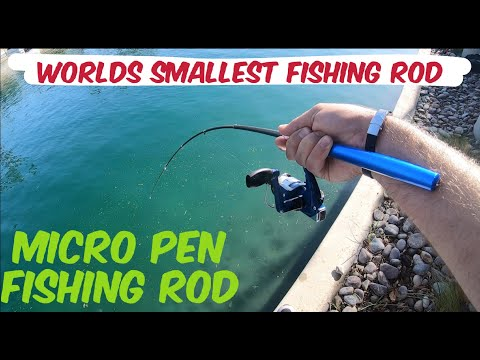 Amazon's Micro Pen Rod - DOES It Catch Giants?????