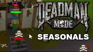 [DMM] RRobert Seasonals Mage PK Massacre (50+ Kills) Ep. 1 - Deadman Mode Season 5 Runescape