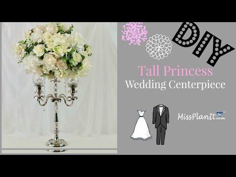 diy-tall-princess-white-flower-candelabra-wedding-centerpiece-|-diy-princess-weddings-|-diy-tutorial