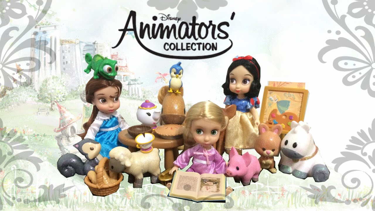 5aba549e903 Disney Animators Belle Mini Doll Playset