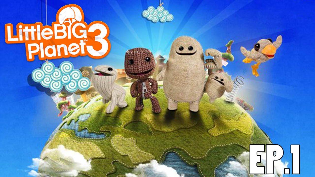 【PS4】《小小大星球3-LittleBigPlanet 3》EP.1 - YouTube