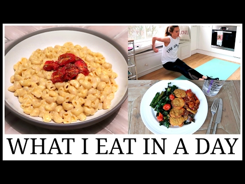 17. What I Eat In A Day | VEGAN Mac + Cheese Recipe