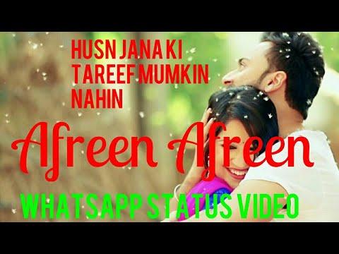 Afreen Afreen  Female Version | Beautiful Song | Whatsapp Status Video