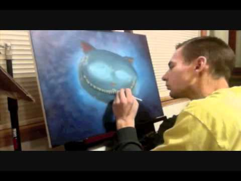 Speed Painting - Cheshire Cat