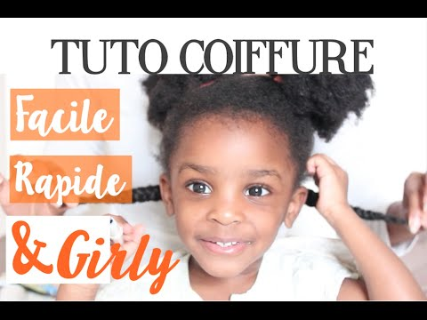 tuto coiffure petite fille facile rapide et girly marciabloem youtube. Black Bedroom Furniture Sets. Home Design Ideas