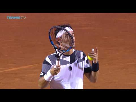 Thiem and Ramos-Vinolas: 2017 Rio Open Tennis Highlights 22 Feb