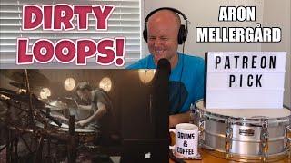 Drum Teacher Reaction: Aron Mellergård   DIRTY LOOPS   ''Work Shit Out''   (2021 Reaction)
