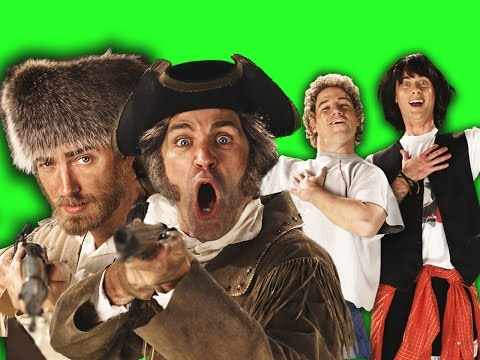 Lewis and Clark vs Bill and Ted.  Behind the Scenes of Epic Rap Battles of History poster