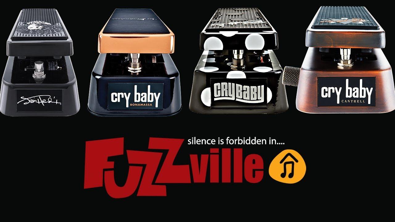 Dunlop Cry Baby Shootout - Jimi Hendrix, Joe Bonamassa, Buddy Guy, Jerry  Cantrell signature models