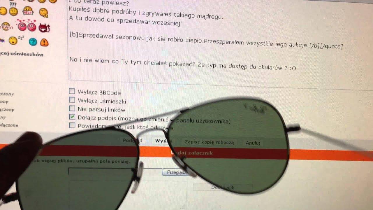 ray ban aviator polarized test