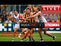 Gold Coast Suns vs North Melbourne Kangaroos AFL Live
