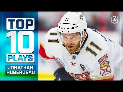 Top 10 Jonathan Huberdeau plays from 2018-19