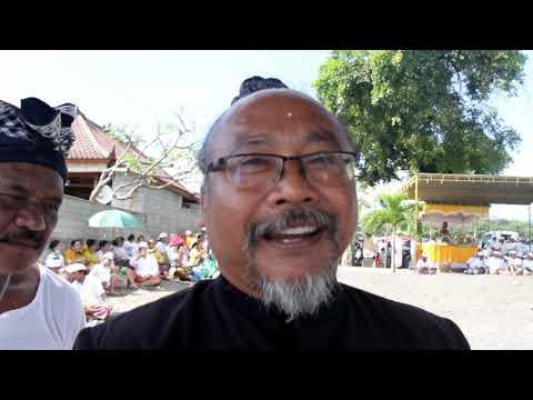 Melasti Di Segara Ume Anyar Dalam Rangkaian Upacara Ngusaba Desa Saha Mapahayu Nini