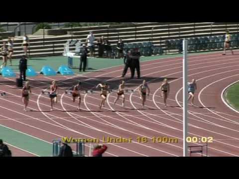 2009 Vic U16 Women 100m