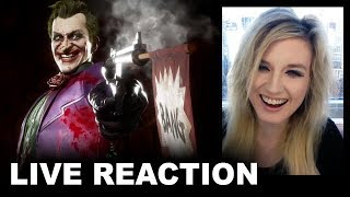 Mortal Kombat 11 Joker Trailer REACTION