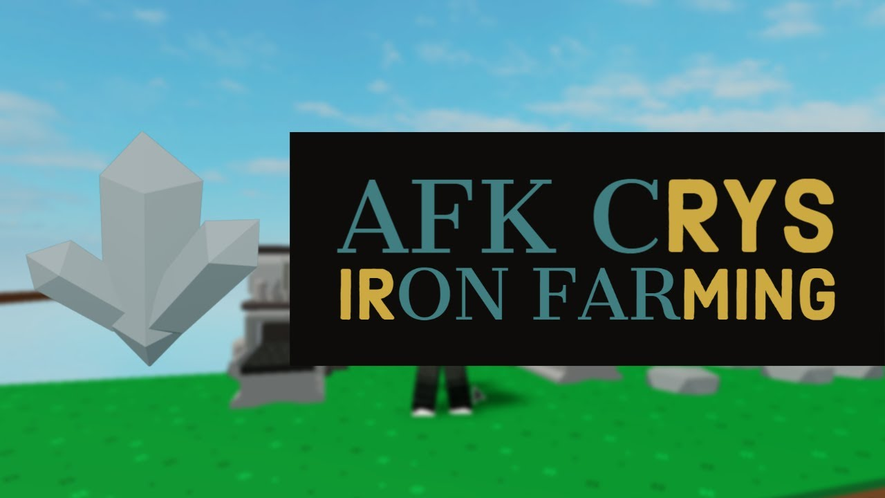 Unlimited Crystallized Iron Skyblock Farming Youtube