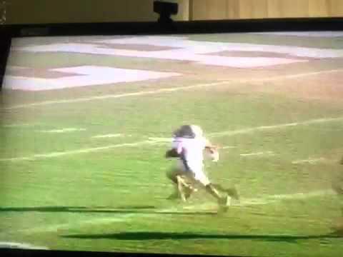 Peanut#3 score a 55yard touchdown vs mustang