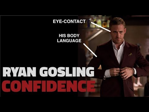The Confidence Secret Of Ryan Gosling [Emma Stone Pick Up Line From Crazy, Stupid, Love]