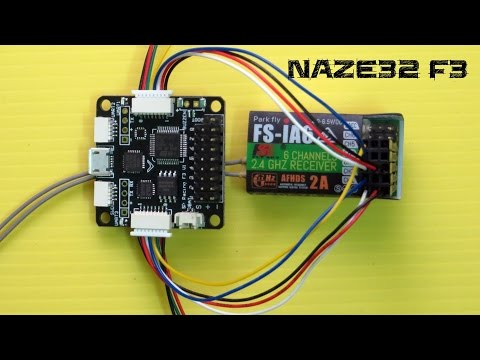 How To Connect Naze32 F3 with any 6 Channel Receiver - YouTube Naze Pwm Wiring Diagram on