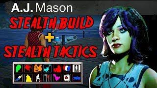 L'INVISIBILITÉ VS JASON | Stealth AJ Mason construire avec des avantages | trucs et Astuces vendredi 13 le jeu
