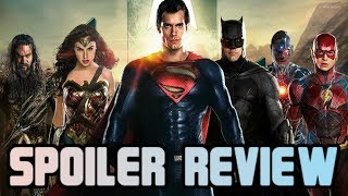 Justice League SPOILERS Review