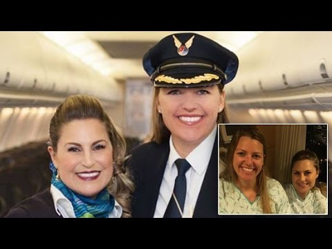 Thumbnail: Pilot Saves Flight Attendant's Life By Donating Kidney To Her