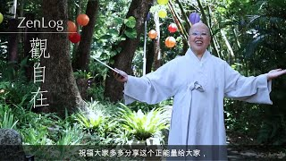 大观禅师呼吁《禅行天下·Zenlog》微视频原创奖_20211010