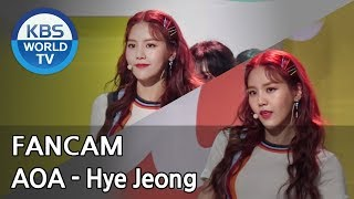 [FOCUSED] AOA's Hye Jeong  - Bingle Bangle[Music Bank / 2018.06.01]