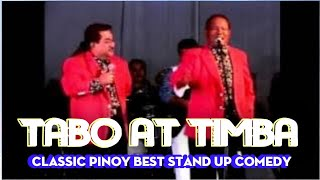 Tabo at Timba | Classic pinoy standup comedy