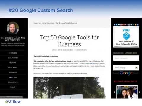 Top 50 Free Google Tools for Business