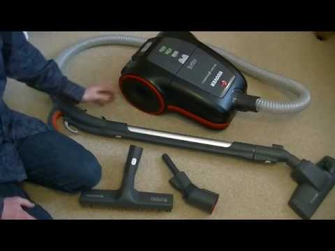 Hoover Silent Energy Cylinder Vacuum Cleaner Unboxing & First Look