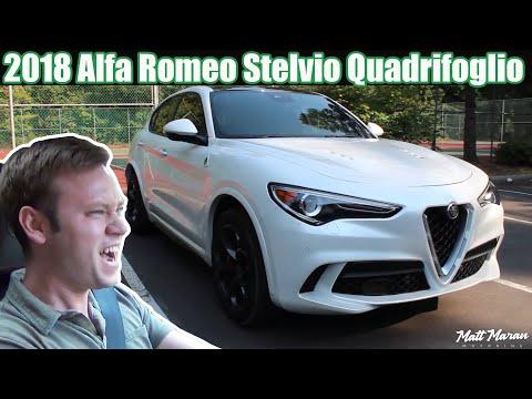 Review: 2018 Alfa Romeo Stelvio Quadrifoglio