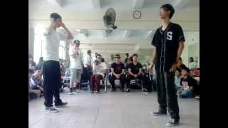 [Sunday Morning Vol 10] Top 16 - Popping Battle 1 vs 1 - Wave Chan vs V.M.P