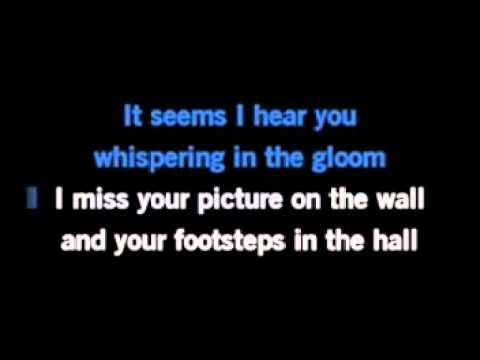 Crying My Heart Over You (Karaoke)
