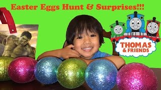 Open easter eggs surprise thomas the tank engine train and friends thumbnail