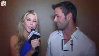 "La entrevista de Mara Roldan a @willylevy29 ""Los gustos de William Levy"" 
