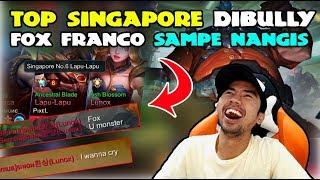JEFFRYARGA X FOX FRANCO VS TOP SINGAPORE