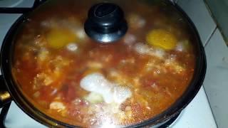 Менемен - овощное блюдо / Готовит турчанка /Турецкая кухня /Турецкий завтрак
