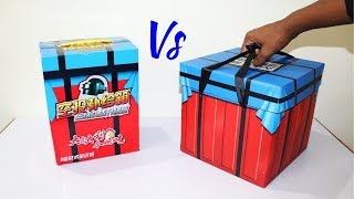 PUBG Two Air Drop Box Unboxing | Comparision