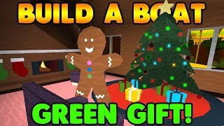 HOW TO GET THE GREEN GIFT! | Build A Boat For Treasure ROBLOX