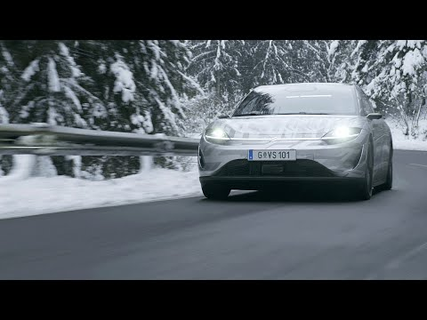 VISION-S | Public Road Testing in Europe