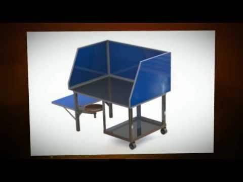 Welding table plans and more youtube for Plan fabrication table